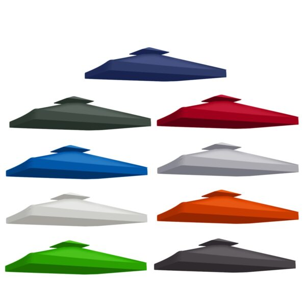 New Top Cover Outdoor Gazebo Garden Marquee Tent Replacement Sun Shade Outdoor Backpacking Canopy Tent Sun Shade UV Proof