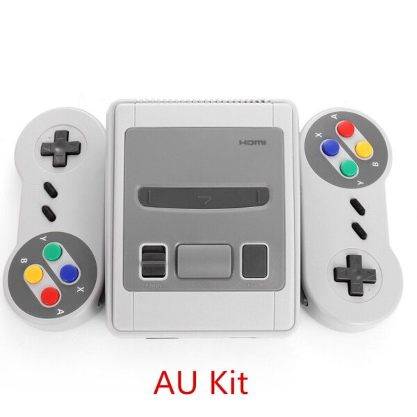 Retro Mini TV Game Console 8bit 620 Classic Games with Dual Gamepads Built-in 620 Games Retro Video Game Player for SFC