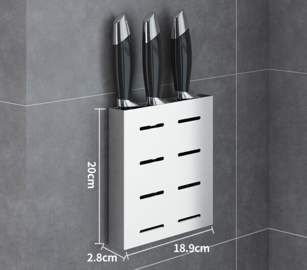 304 Stainless Steel Wall Mount Kitchen Storage Rack Dish Drainer Plate Drying Shelf Cover Cutlery Holder Oragnizer Accessories