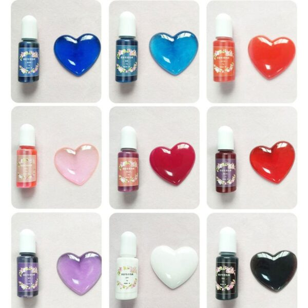 15 Colors Epoxy Resin Pigment Epoxy Resin Dye Resin Jewelry Making DIY Crafts