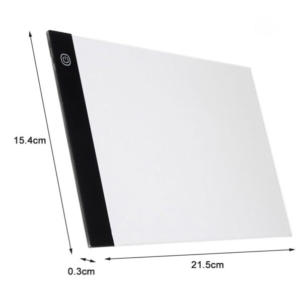 A4/A5 LED Drawing Boards Tracing Board Copy Pads LED Drawing Tablet Plate Art Writing Table Stepless Dimming Artcraft Light Box