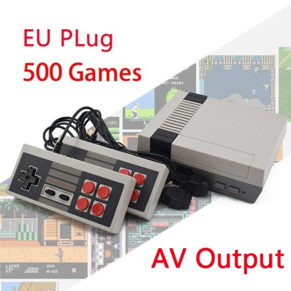 Built-In 500/620/621 Games Mini TV Game Console 8 Bit Retro Classic Handheld Gaming Player AV/HDMI Output Video Game Console Toy