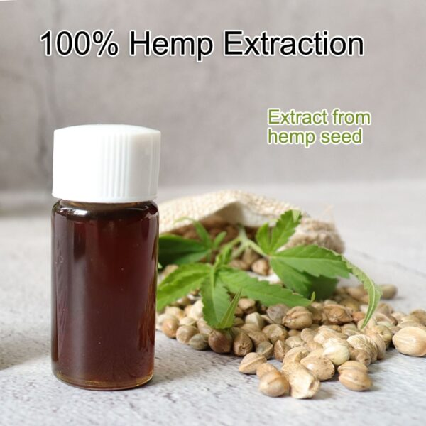 10ML Broad Spectrum 50% Content CBD OIL No THC Over 99% Purity Hemp Seed Extract drop Anti-anxiety insomnia relief pain