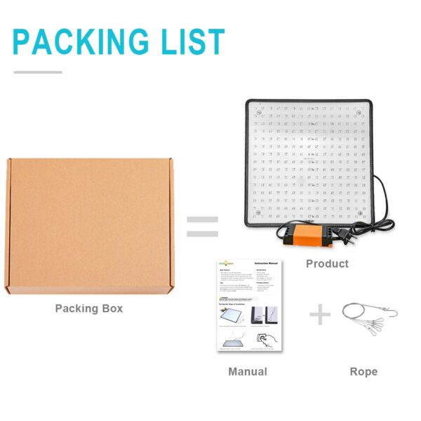 1500W LED Grow Light 1000W Led Grow Lamp For Plants Full Spectrum Fitolampy Fitolamp Indoor Tent Phyto 500W 225Led Flower Seed