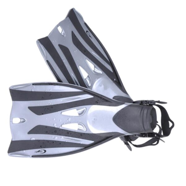 Scuba Diving Snorkeling Fins Training Flippers Aid Shoes for Watersports