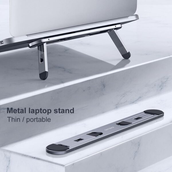Oatsbasf Laptop stand suporte notebook tablet accessories macbook pro stand Mini Foldable laptop Portable holder Cooling stand