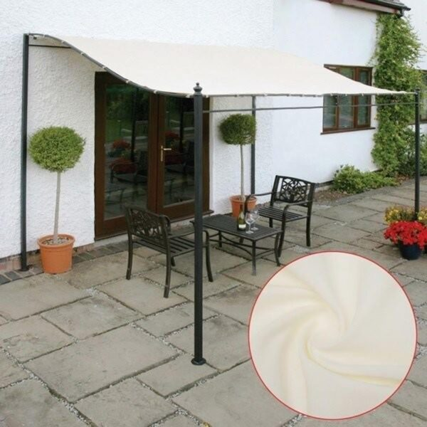 300D Canvas Waterproof Tent Top Roof Gazebos Garden Replacement Canopy Outdoor Awning Tent Shade Party Pawilon Top Cover