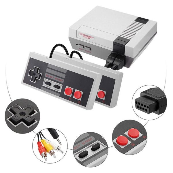 Retro Handheld 4 Keys Games Console Built-in 620 Classic Games for NES US Mini TV Handheld Game Console Dropshipping
