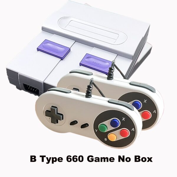 2018 New Retro Super Classic Game Mini TV 8 Bit Family TV Video Game Console Built-in 620/660 Games Handheld Gaming Player Gift
