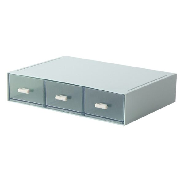 Multifunction Drawer Desk Organizer Combinable Cosmetic Jewelry Storage Box Stackable Storage Organization Home Office Container
