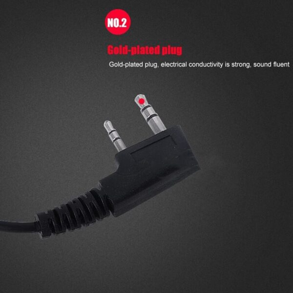 10PCS Accessories Air Acoustic Tube Headset Earpiece for Baofeng for Radio Walkie Talkie Headset for 888S UV-5R UV-82