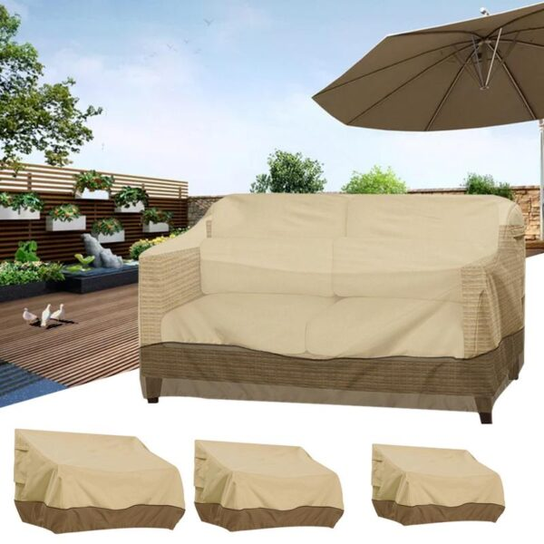 Outdoor Furniture Table Cover Garden Desk Lounge Bench Waterproof Dust-proof UV Resistant Sofa Cover