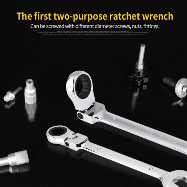 Key Wrench Set Car Repair Set Wrenches Universal Key Ratchet Spanners Wrench Sets Hand Tools Ratchet wrench Set