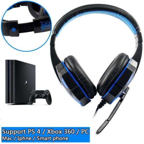 Eastvita Wired Gaming Headset PC Music Stereo Earphones Headphones with Microphone for PS4 computer Gamer headphone 3.5mm r57