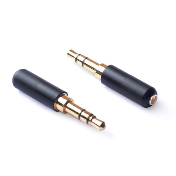 OKCSC MMCX Connector to 0.78 2pin/A2DC/3.5mm Jack Interface Adapter HiFi DIY Tools Stereo Earphones Accessory for SE535/W30