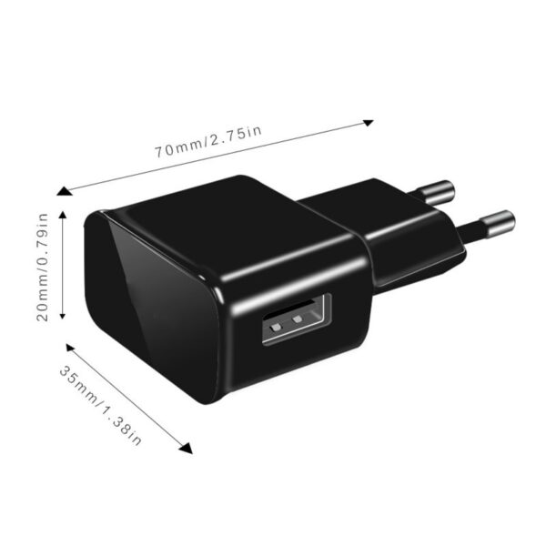10PCS/lot 5V 2A EU Plug Wall Travel USB Charger Adapter For Samsung galaxy S5 S4 S6 note 3 2 For iphone 7 6 5 HTC Huawei Xiaomi