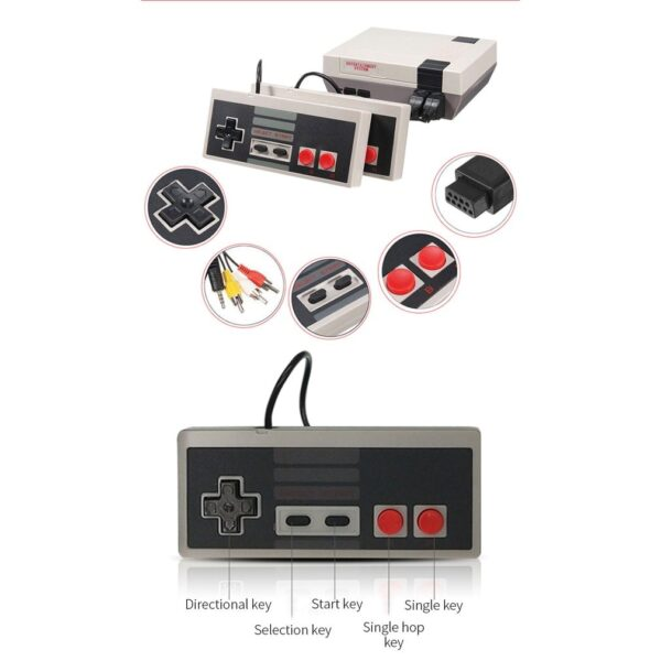 Mini Tv Game Console 8 Built-in 620 Games Bit Retro Video Game Game Console Portable Best Gift Player ONLENY