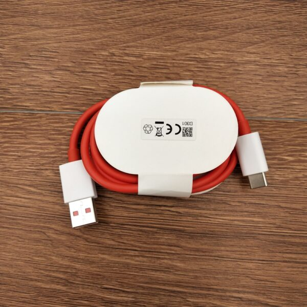Oneplus 8 pro Warp charger USB 1M Type-C Cable 5V 6A 30W Dash Fast Wall Charging For One plus 1 + 7T 7 Pro 6 6t 5 5t 3t