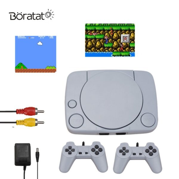 Handheld Gaming Player Mini 8 Bit Retro Video Games Console 620 Built-in Classic TV Game Console 2 Controllers Kid Gift