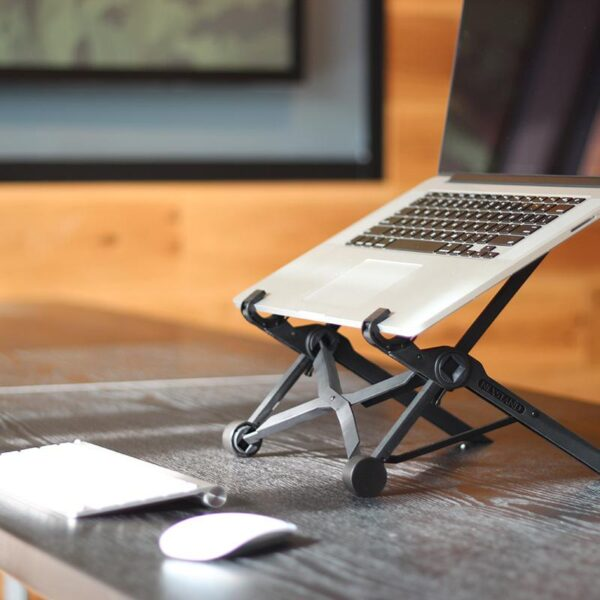 NEXSTAND K2 Laptop Stand Folding Portable Laptop Stand Viewing Angle Height Adjustable Bracket Laptop Accessories Notebook Stand