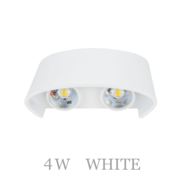 Nordic LED wall lamp Aluminum Waterproof outdoor wall lights for Porch/Garden /Bathroom light led luminaire 4W/6W/8W/10W /12W