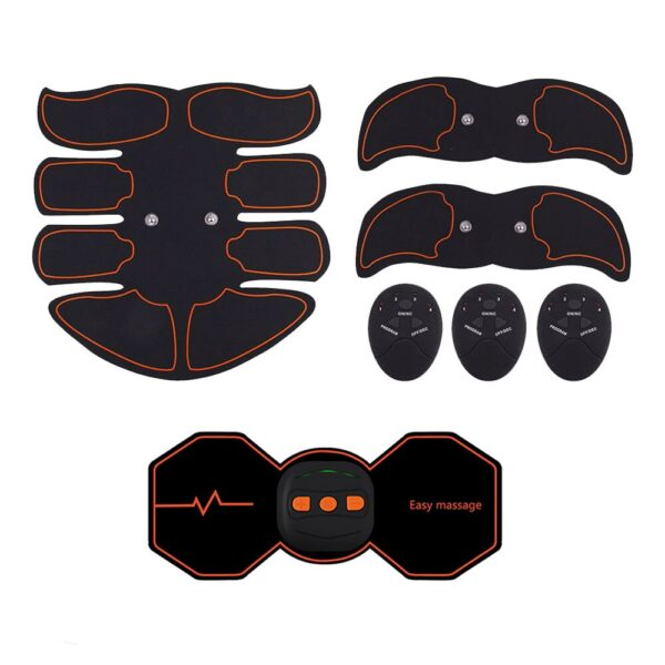 Electric Stimulators Massage Press Trainer Abdominal Muscle Exerciser Belly Leg Arm Exercise Workout Home Fitness Equipment