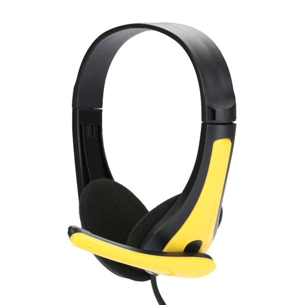 High Quality 3.5mm Bass Stereo Headset with MIC Headphone For PC Computer ABS Ear Noise reduction Wired Headphone Spot TXTB1