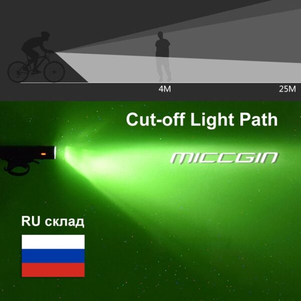 Bicycle Light LED Bike Super Bright Front Rear Lighting Set Lantern For Cycling Flashlight USB Rechargeable COB Lamp Accessories