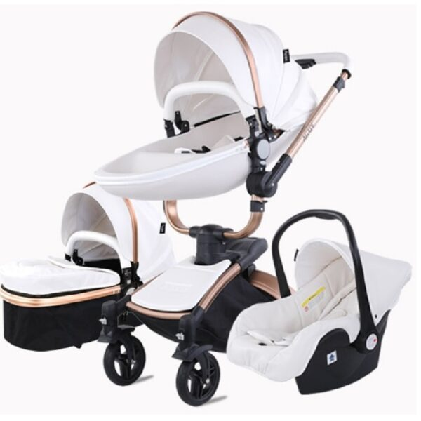 Baby Stroller 3 in 1 tricycle baby walker High Landscape Stroller Folding strollers baby trolley baby pram for baby 0-36 months