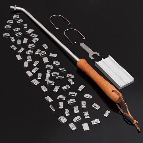 BBQ Branding Iron 55Letters DIY Barbecue Letter Printed BBQ Steak Tool Meat Grill Forks Barbecue Tool Accessories kitchen stuff