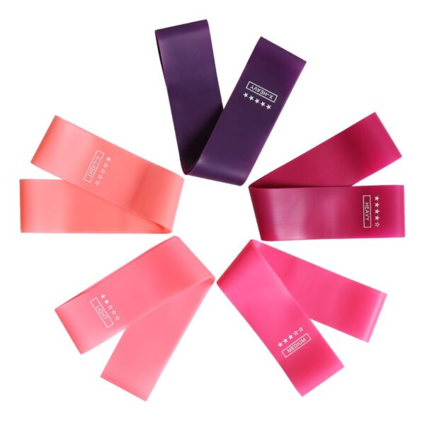 Training Fitness Gum Exercise Gym Strength Resistance Bands Pilates Sport Rubber Fitness Mini Bands Crossfit Workout Equipment