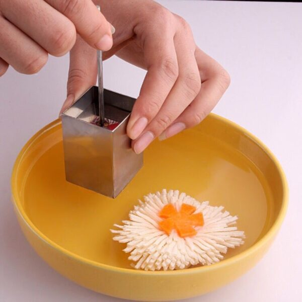 Handy Square Grids Shaped Tofu Cutter Stainless Steel Slicer Manual Press Shredder Cooking Vegetable Tools Kitchen Accessories
