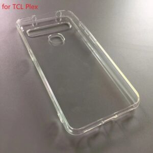frosted Soft TPU cell Phone Case for TCL Plex case, transparent Pudding case for TCL Plex cover,mix models accept