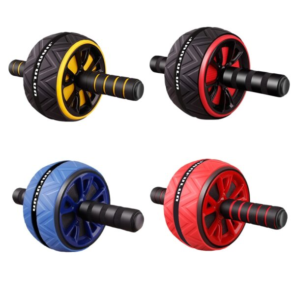 2020 New Ab Roller No Noise Abdominal Wheel Ab Roller with Mat For Arm Waist Leg Exercise Gym Fitness Equipment