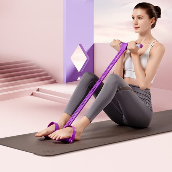 2020 NEW Fitness Resistance Band pedal Home Gym Sport Training Elastic Bands Chest Pull Leg Latex Elastic Pull Ropes