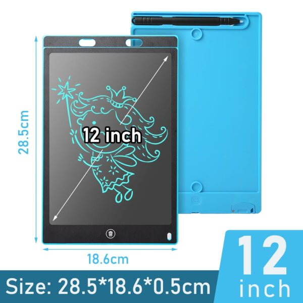 12 inch Portable Smart LCD Writing Tablet Electronic Notepad Drawing Graphics Handwriting Pad Board ultra-thin Board
